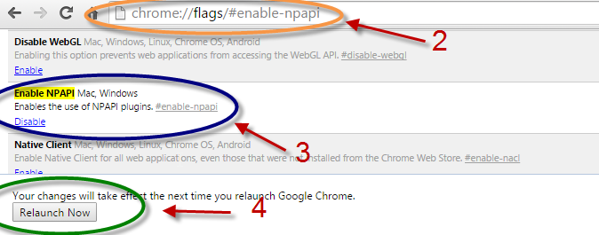 chrome allow plugins not from store
